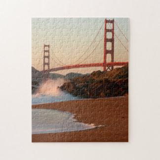 USA, California. Golden Gate Bridge View Jigsaw Puzzle