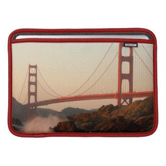 USA, California. Golden Gate Bridge View MacBook Sleeve