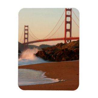 USA, California. Golden Gate Bridge View Magnet