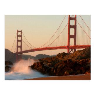USA, California. Golden Gate Bridge View Postcard