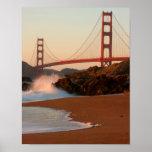 USA, California. Golden Gate Bridge View Posters