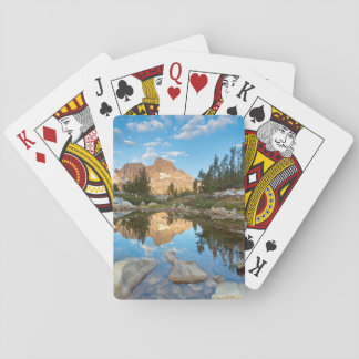 USA, California, Inyo National Forest. 2 Playing Cards
