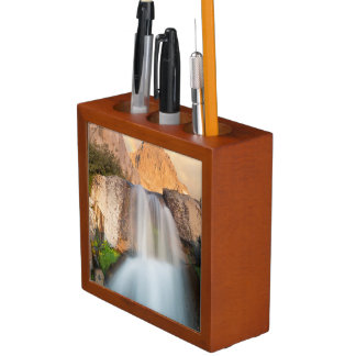 USA, California, Inyo National Forest. Waterfall Desk Organiser