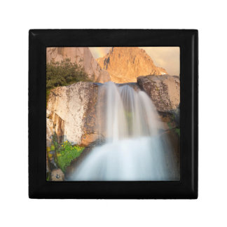USA, California, Inyo National Forest. Waterfall Gift Box