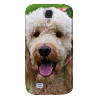 USA, California. Labradoodle Looking At You Galaxy S4 Case