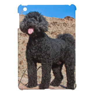 USA, California. Labradoodle Standing Case For The iPad Mini