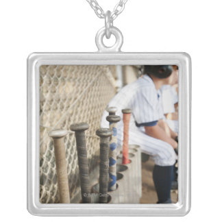 USA, California, Ladera Ranch, Boys (10-11) from Silver Plated Necklace
