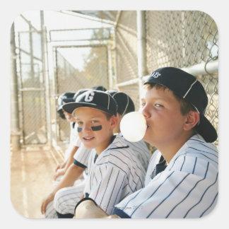 USA, California, Ladera Ranch, boys  (10-11)from Square Sticker