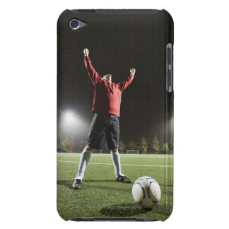 USA, California, Ladera Ranch, Football player 2 iPod Touch Case-Mate Case