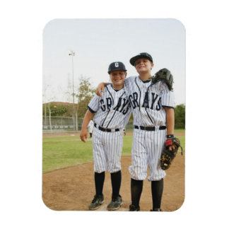 USA, California, Ladera Ranch, two boys (10-11) Rectangle Magnets
