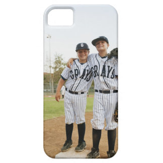 USA, California, Ladera Ranch, two boys (10-11) iPhone 5 Cover