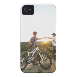 USA, California, Laguna Beach, Two bikers on Case-Mate iPhone 4 Case