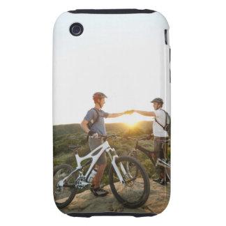 USA, California, Laguna Beach, Two bikers on iPhone 3 Tough Case