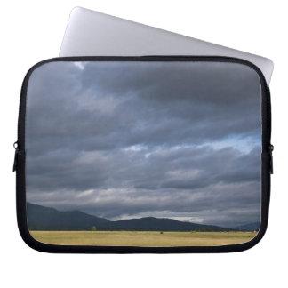 USA, California, Lassen County, Dramatic sky Laptop Sleeve