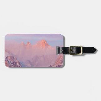 USA, California, Lone Pine. Sunrise Luggage Tag
