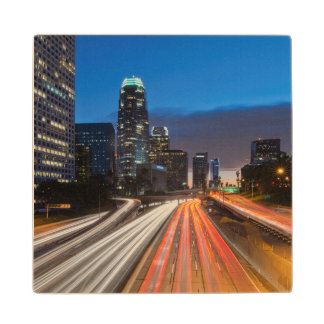 USA, California, Los Angeles, 110 Freeway 2 Wood Coaster