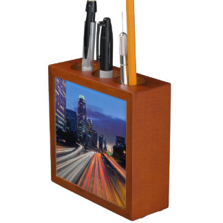 USA, California, Los Angeles, 110 Freeway Desk Organiser