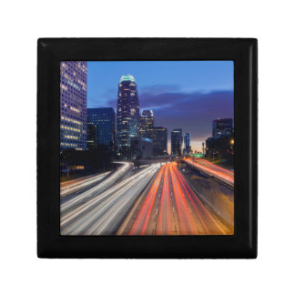 USA, California, Los Angeles, 110 Freeway Gift Box