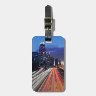 USA, California, Los Angeles, 110 Freeway Luggage Tag