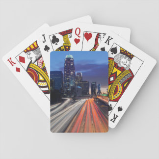 USA, California, Los Angeles, 110 Freeway Playing Cards