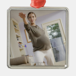 USA, California, Los Angeles, expectant mother Christmas Ornament