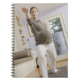 USA, California, Los Angeles, expectant mother Spiral Notebook