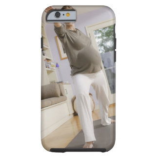 USA, California, Los Angeles, expectant mother Tough iPhone 6 Case