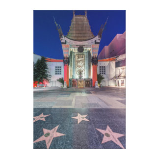 USA, California, Los Angeles, Hollywood Gallery Wrapped Canvas
