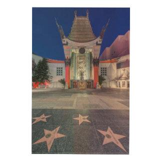 USA, California, Los Angeles, Hollywood Wood Print