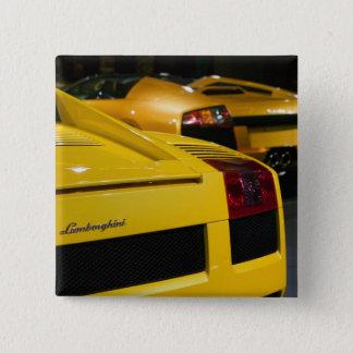 USA, California, Los Angeles: Los Angeles Auto 2 15 Cm Square Badge