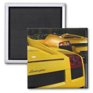 USA, California, Los Angeles: Los Angeles Auto 2 Magnet
