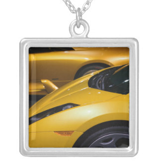 USA, California, Los Angeles: Los Angeles Auto Silver Plated Necklace