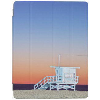 USA, California, Los Angeles, Santa Monica Beach iPad Cover