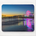 USA, California, Los Angeles, Santa Monica Pier Mouse Mat