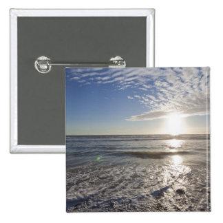 USA, California, Los Angeles, seascape 15 Cm Square Badge