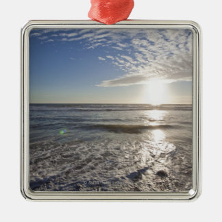 USA, California, Los Angeles, seascape Christmas Ornament