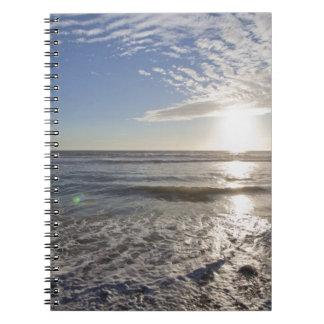 USA, California, Los Angeles, seascape Notebook