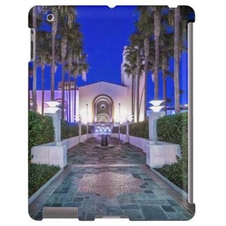 USA, California, Los Angeles, Union Station iPad Case