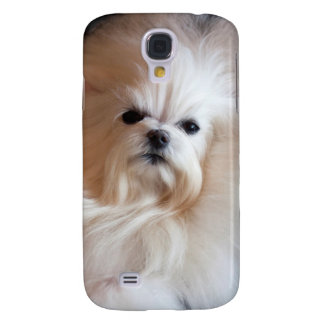 USA, California. Maltese Lying Down Galaxy S4 Case