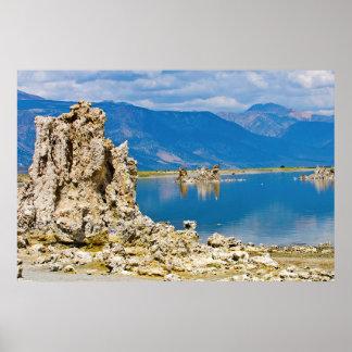 USA, California, Mono Lake South Tufa Reserve Poster