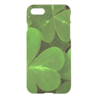 USA, California, Muir Woods. Close-up of clover iPhone 7 Case
