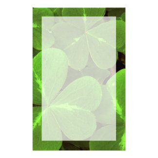USA, California, Muir Woods. Close-up of clover Stationery