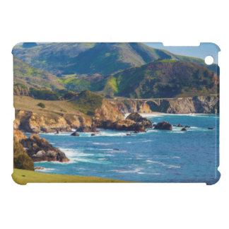 USA, California. Panorama Of Big Sur With Bixby Case For The iPad Mini