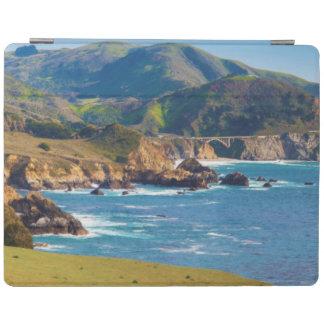 USA, California. Panorama Of Big Sur With Bixby iPad Cover