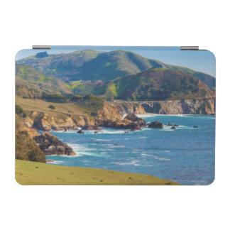 USA, California. Panorama Of Big Sur With Bixby iPad Mini Cover