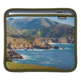 USA, California. Panorama Of Big Sur With Bixby iPad Sleeve