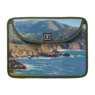 USA, California. Panorama Of Big Sur With Bixby Sleeve For MacBooks