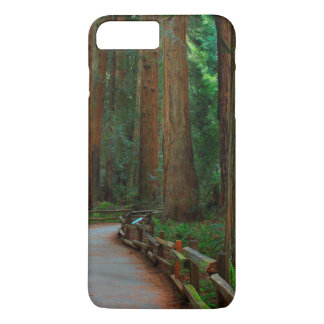 USA, California. Path Among Redwoods In Muir iPhone 7 Plus Case