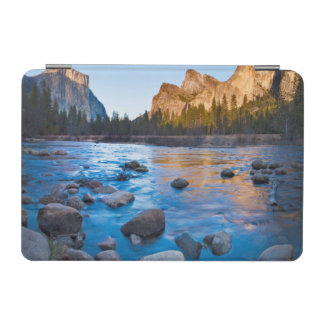 USA, California. Rocky Reflections In Merced iPad Mini Cover