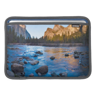 USA, California. Rocky Reflections In Merced MacBook Sleeve